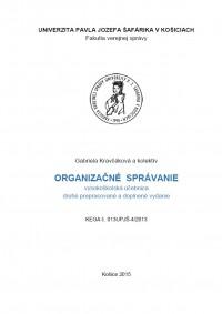 Organizačné správanie