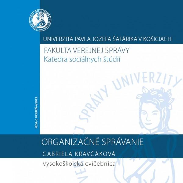 Organizačné správanie - cvičebnica