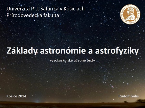 Základy astronómie a astrofyziky