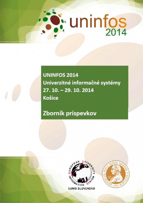 UNINFOS 2014 • Univerzitné informačné systémy