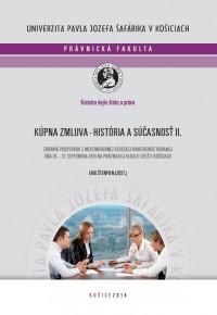 Kúpna zmluva – história a súčasnosť II.