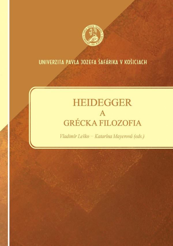 Heidegger a grécka filozofia