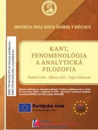 Kant, fenomenológia a analytická filozofia
