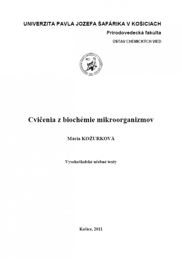 Cvičenia z biochémie mikroorganizmov
