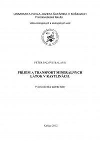 Príjem a transport minerálnych látok v rastlinách