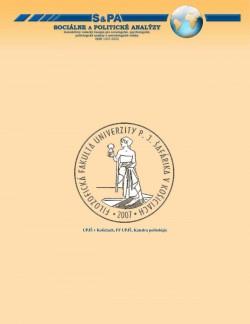Sociálne a politické analýzy 2-2007
