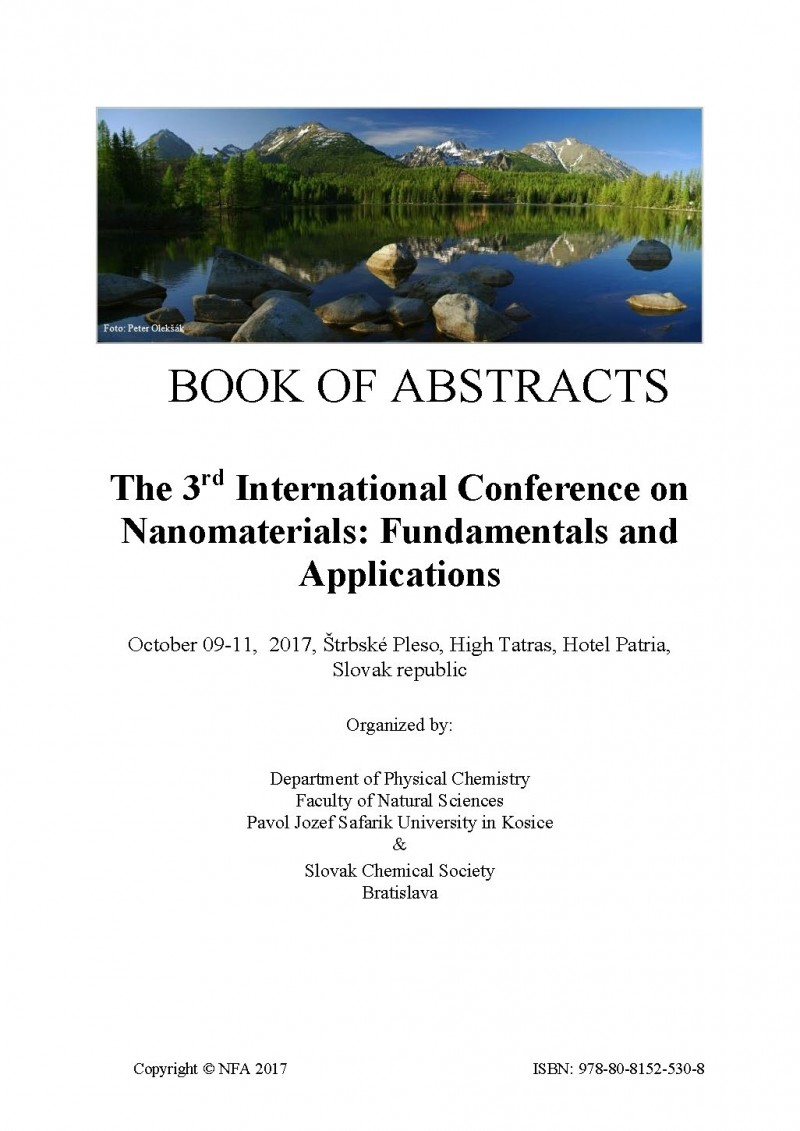 The 3rd International Conference on Nanomaterials ...