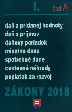 Zákony 2018 l.časť A
