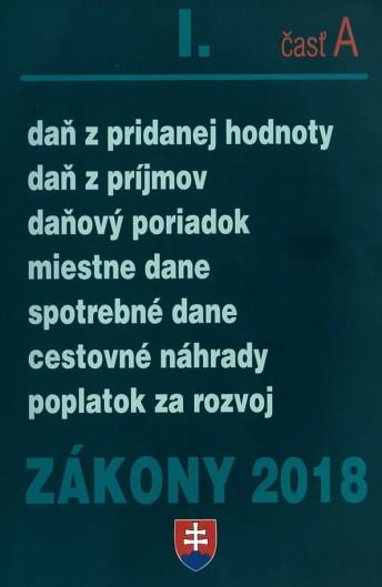 Zákony 2018 l. časť A