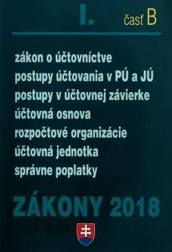 Zákony 2018 I. časť B