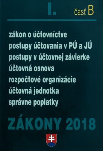 Zákony 2018 l. časť B