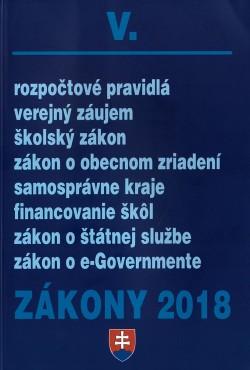 Zákony V. 2018