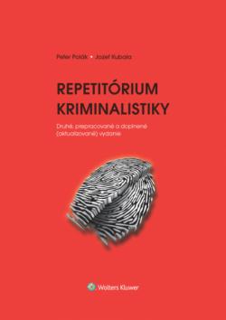 Repetitórium kriminalistiky 2.vydanie