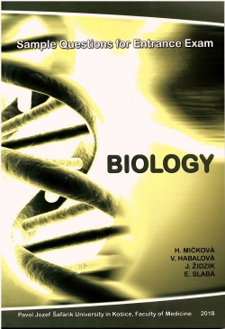 BIOLOGY - Sample Questions for Entrance Exam
