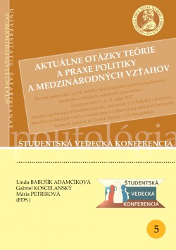 Aktuálne otázky teórie a praxe politiky a medzinárodných vzťahov
