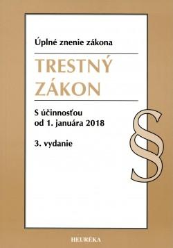 TRESTNÝ ZÁKON Úzz,s účinnosťou od 1.januára 2018 3.vydanie