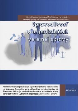 Spravodlivosť v organizáciách verejnej správy