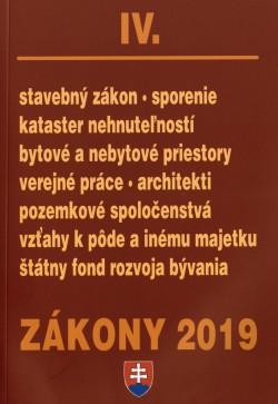 Zákony 2019 IV