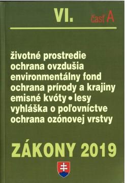 Zákony 2019 VI. časť A