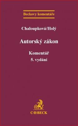 Autorský zákon Komentář 5. vydání