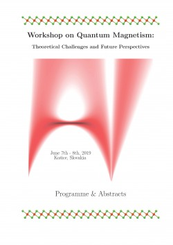 Workshop on Quantum Magnetism: Theoretical Challenges and Future Perspectives