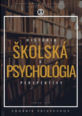 Školská psychológia 2018 - História a perspektívy