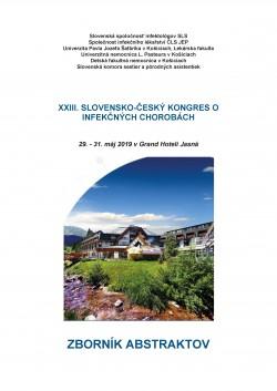 XXIII. slovensko - český kongres o infekčných chorobách