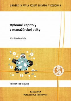 Vybrané kapitoly z Manažérskej etiky Vysokoškolská učebnica