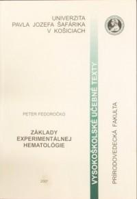 Základy experimentálnej hematológie