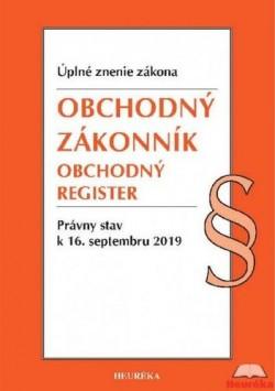 Obchodný zákonník, Obchodný register - Úzz 2019