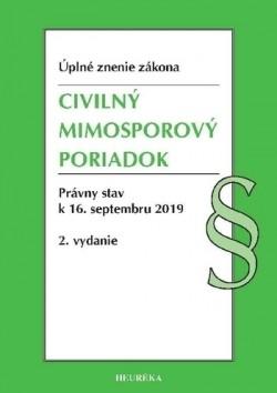 Civilný mimosporový poriadok Úzz 2019