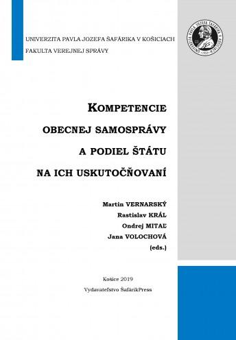 Kompetencie obecnej samosprávy a podiel štátu na ich uskutočňovaní