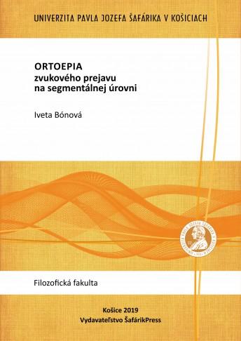 ORTHOEPY ON THE SEGMENTAL LEVEL