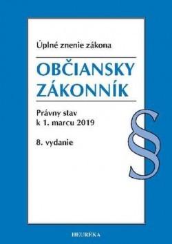 Občiansky zákonník Úzz., 8.vydanie 2019