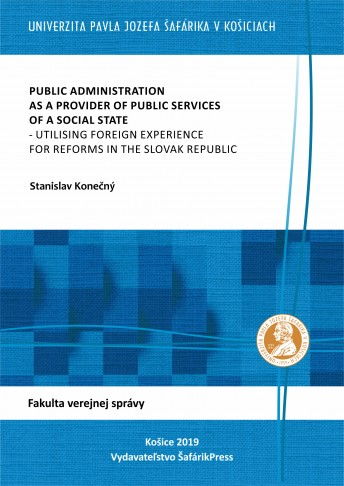 Public Administration as a Provider of Public Services of a Social State