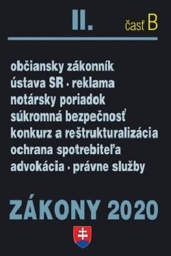 Zákony 2020 II. časť B