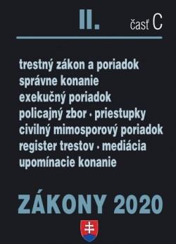 Zákony 2020 II. časť C