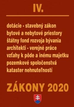 Zákony 2020 IV.
