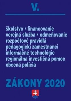 Zákony 2020 V.