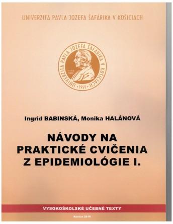 Návody na praktické cvičenia z epidemiológieI