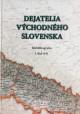 Dejatelia východného Slovenska: 1.diel A-K
