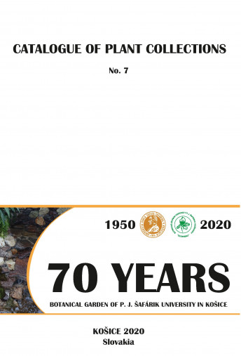 Catalogue of Plant Collections No. 7