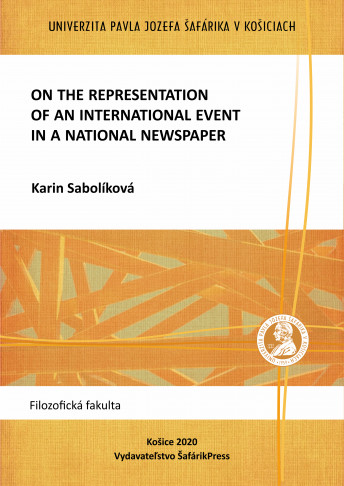 ON THE REPRESENTATION OF AN INTERNATIONAL EVENT IN A NATIONAL NEWSPAPER