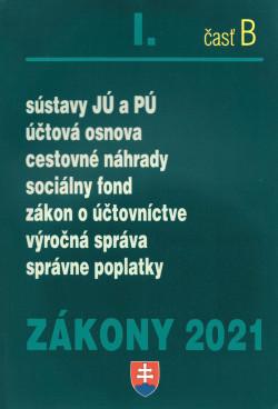 Zákony 2021 I. časť B