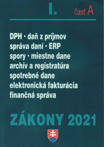 Zákony 2021 I.časť