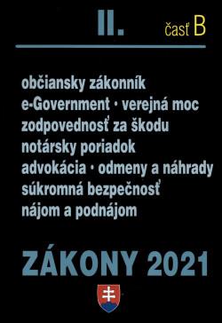 Zákony 2021 II. časť B