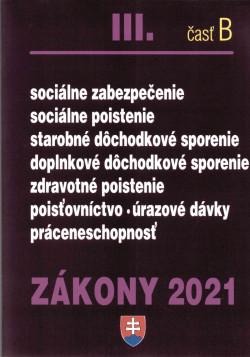 Zákony 2021 III. časť B