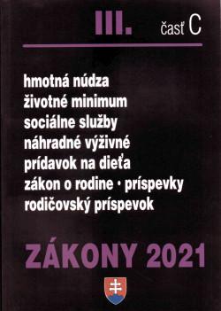 Zákony 2021 III. časť C
