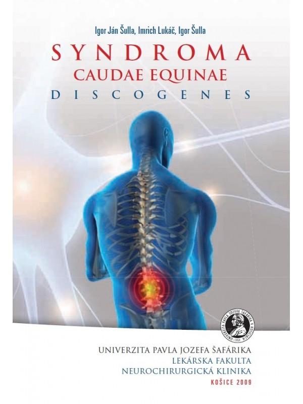 Syndroma caudae equinae discogenes