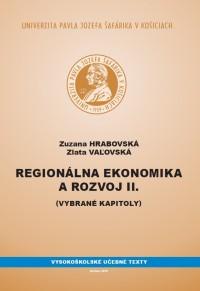 Regionálna ekonomika a rozvoj II